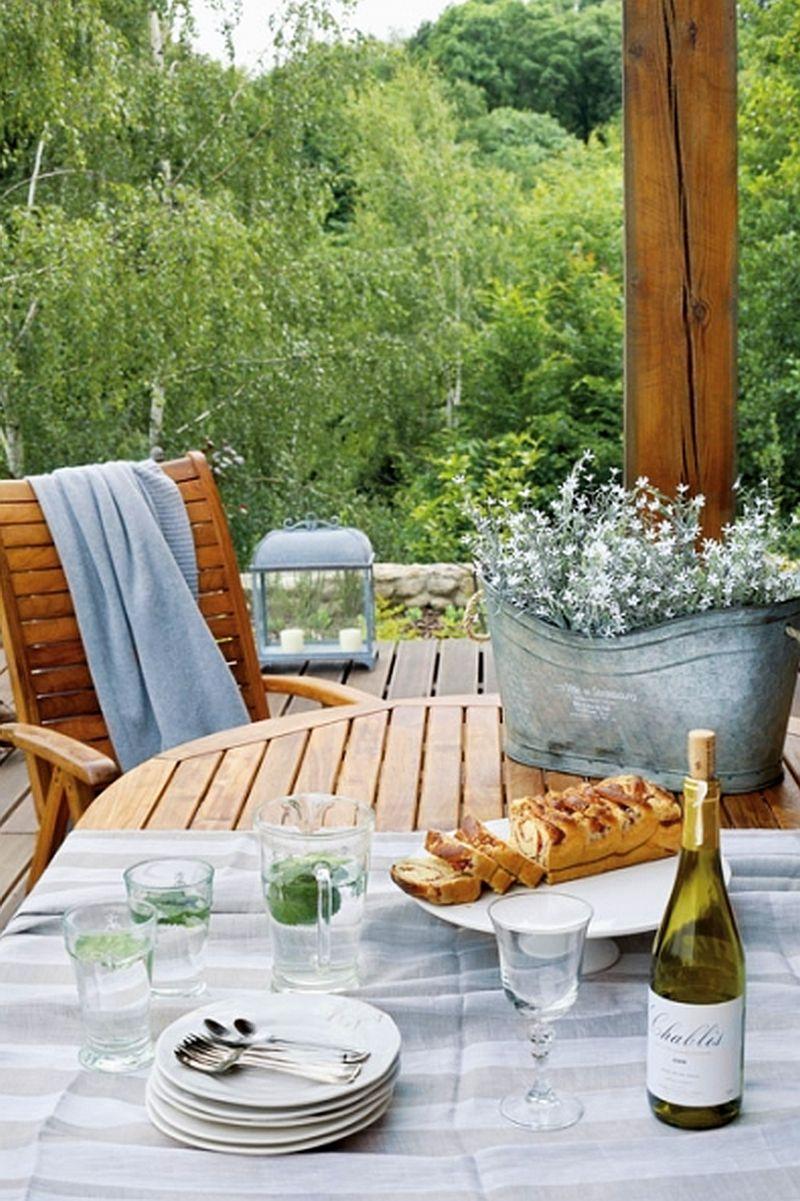 adelaparvu.com despre casa la tara din lemn cu fundatie de piatra, casa Polonia (5)