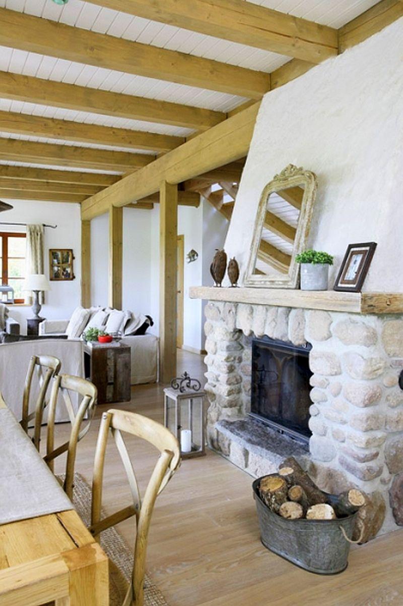 adelaparvu.com despre casa la tara din lemn cu fundatie de piatra, casa Polonia (9)