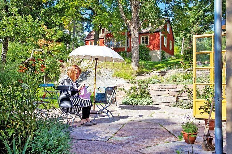 adelaparvu.com despre casa mica 40 mp, arhitect Buster Delin, casa suedeza (1)