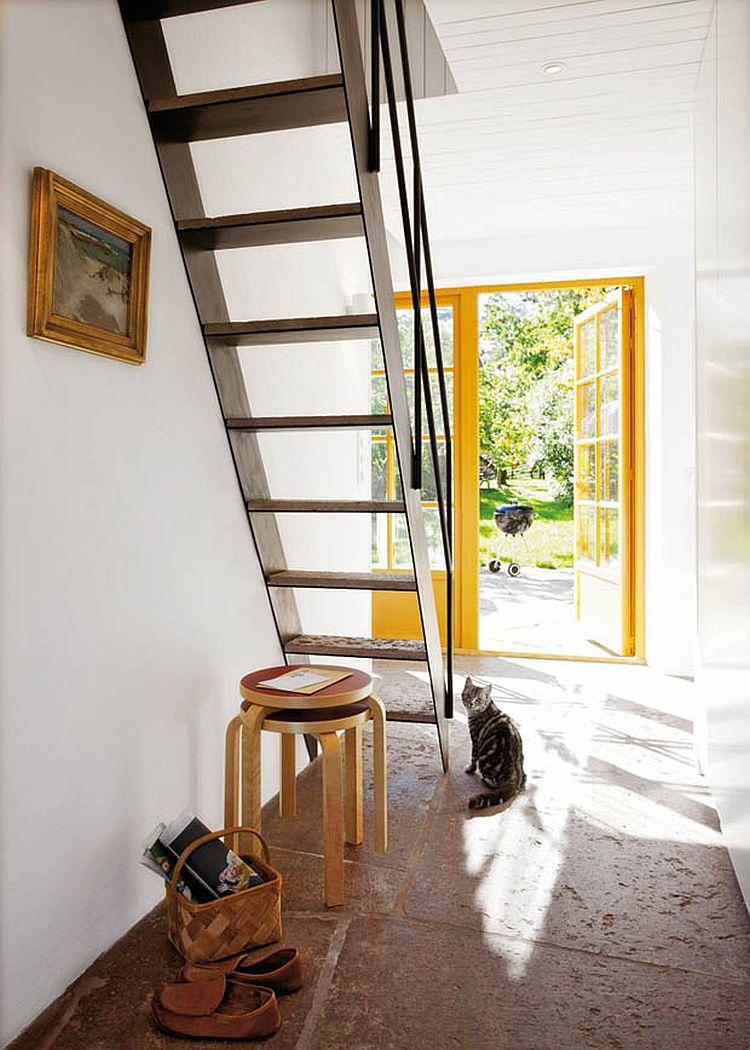 adelaparvu.com despre casa mica 40 mp, arhitect Buster Delin, casa suedeza (5)