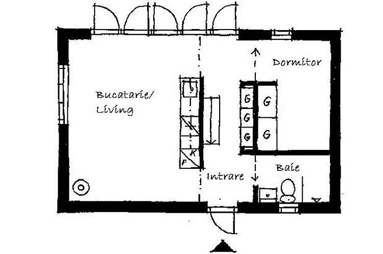 adelaparvu.com despre casa mica 40 mp, arhitect Buster Delin, casa suedeza (6)