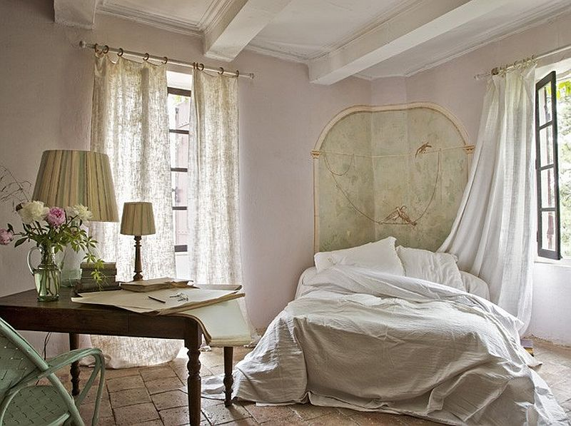 adelaparvu.com despre casa rustica din piatra, casa din Franta, Foto Christophe Rouffio Elle Maison (1)
