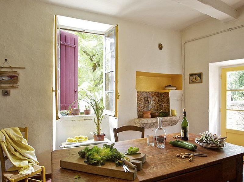 adelaparvu.com despre casa rustica din piatra, casa din Franta, Foto Christophe Rouffio Elle Maison (2)
