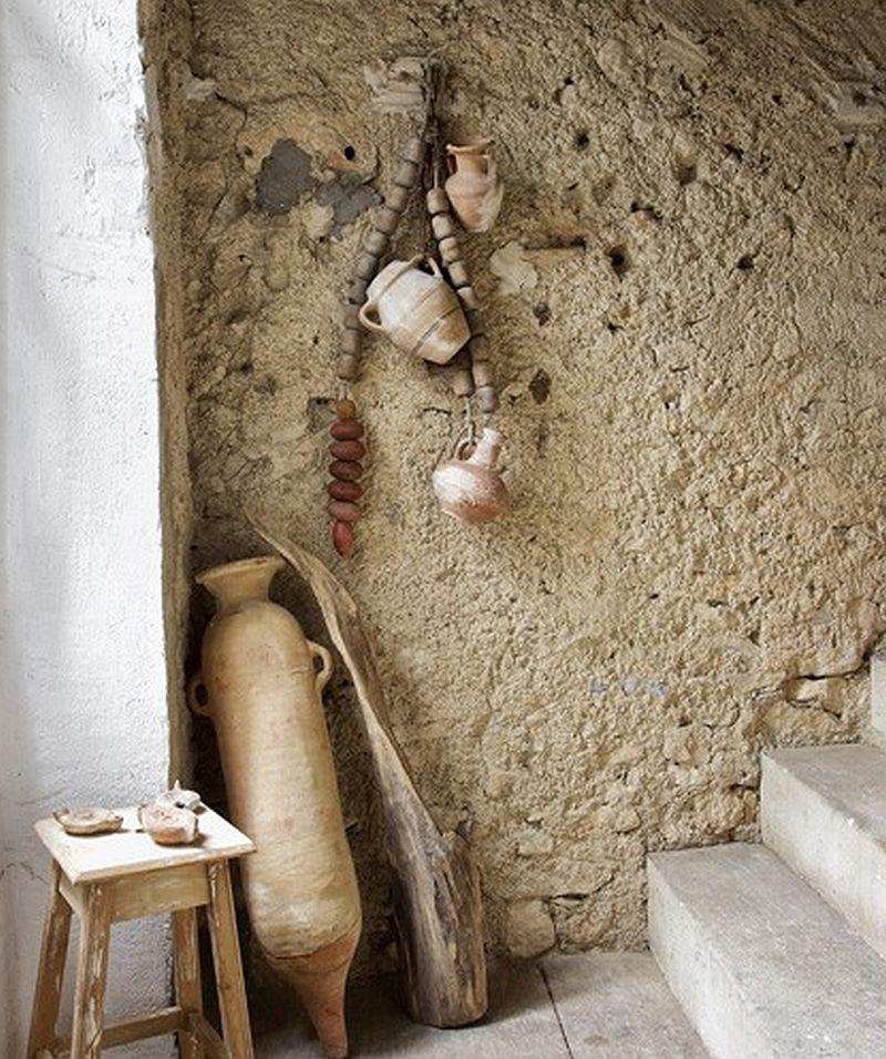 adelaparvu.com despre casa rustica din piatra, casa din Franta, Foto Christophe Rouffio Elle Maison (4)