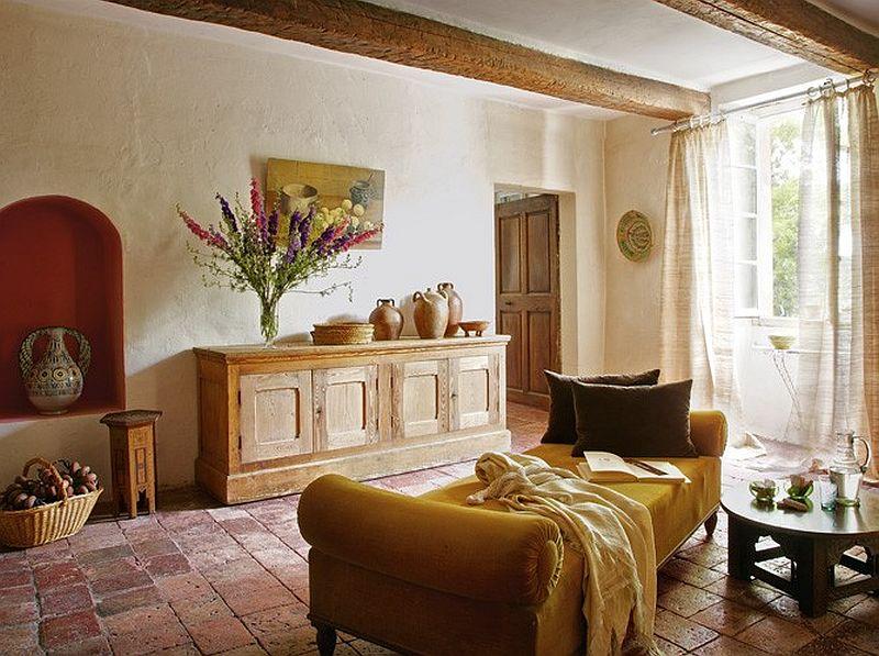 adelaparvu.com despre casa rustica din piatra, casa din Franta, Foto Christophe Rouffio Elle Maison (6)