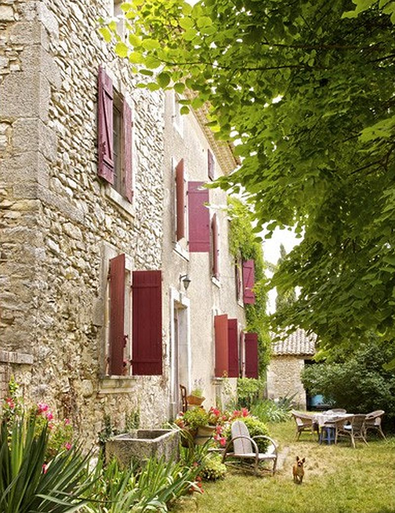 adelaparvu.com despre casa rustica din piatra, casa din Franta, Foto Christophe Rouffio Elle Maison (7)