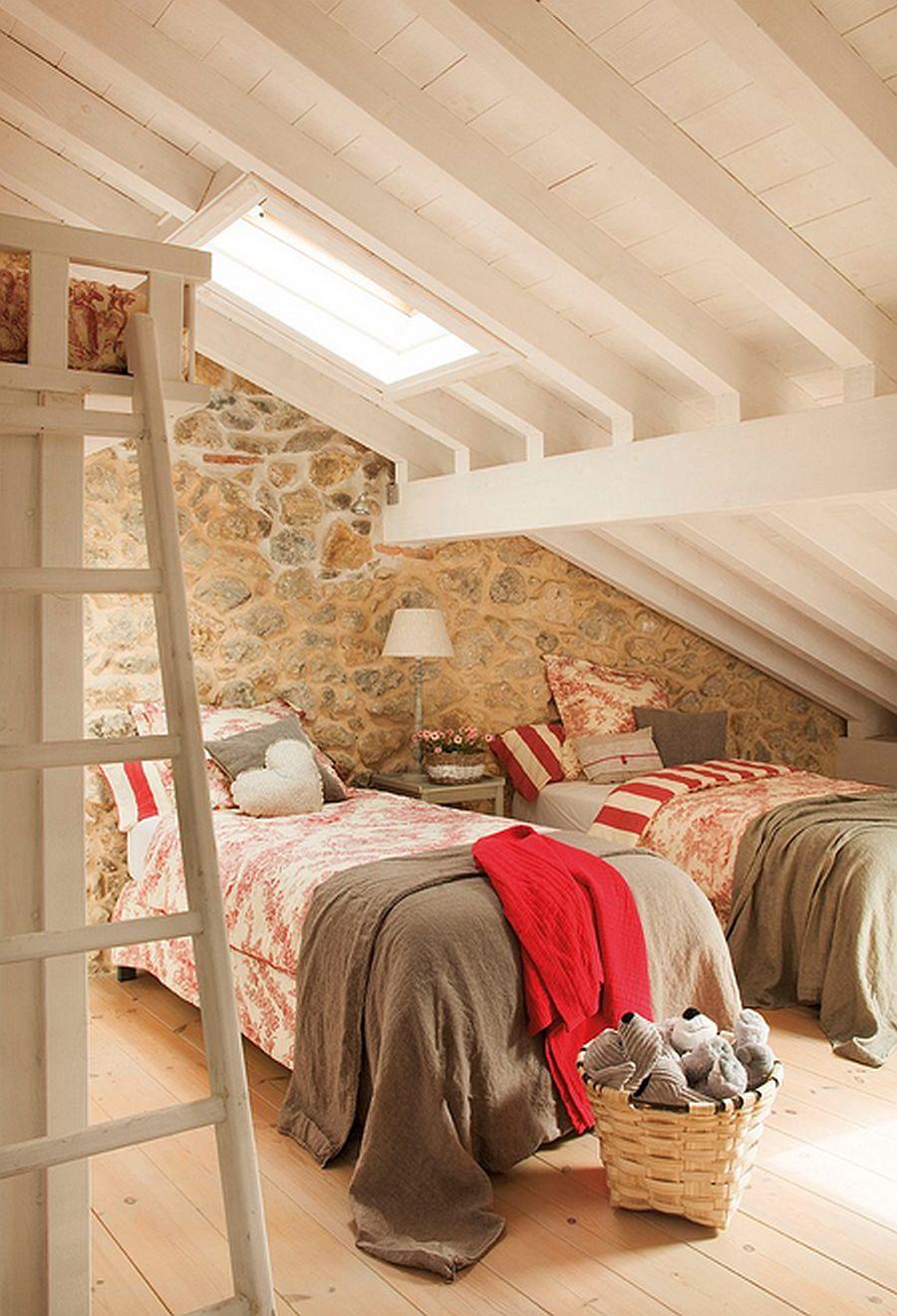 adelaparvu.com despre casa rustica din piatra, interior provensal, casa Spania, design interior Blanca Uriarte, Foto ElMueble (11)