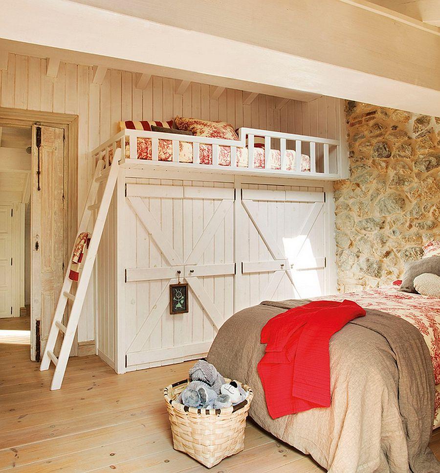 adelaparvu.com despre casa rustica din piatra, interior provensal, casa Spania, design interior Blanca Uriarte, Foto ElMueble (12)