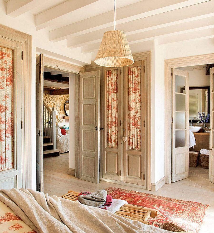 adelaparvu.com despre casa rustica din piatra, interior provensal, casa Spania, design interior Blanca Uriarte, Foto ElMueble (15)
