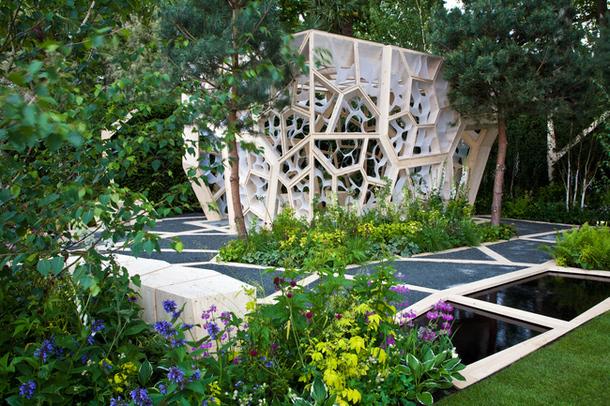 Gradina The Times Eureka Garden, proiect prezentat la Chelsea Garden Show  de The Times si Kew Gardens