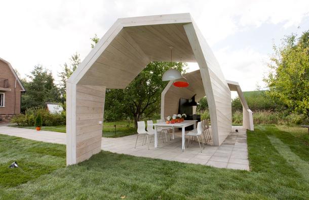Pavilion de gradina, proiect biroul de arhitectura Zabor