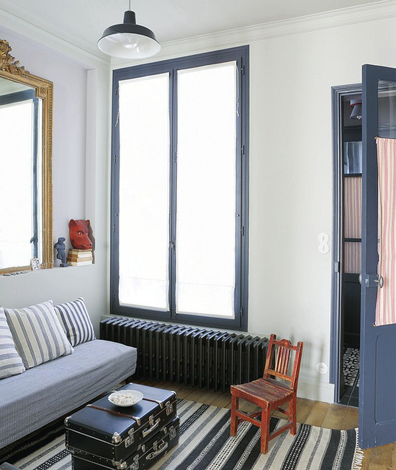 adelaparvu.com despre garsoniera 25 mp, locuinta mica Paris, designer Marianne Evennou (1)