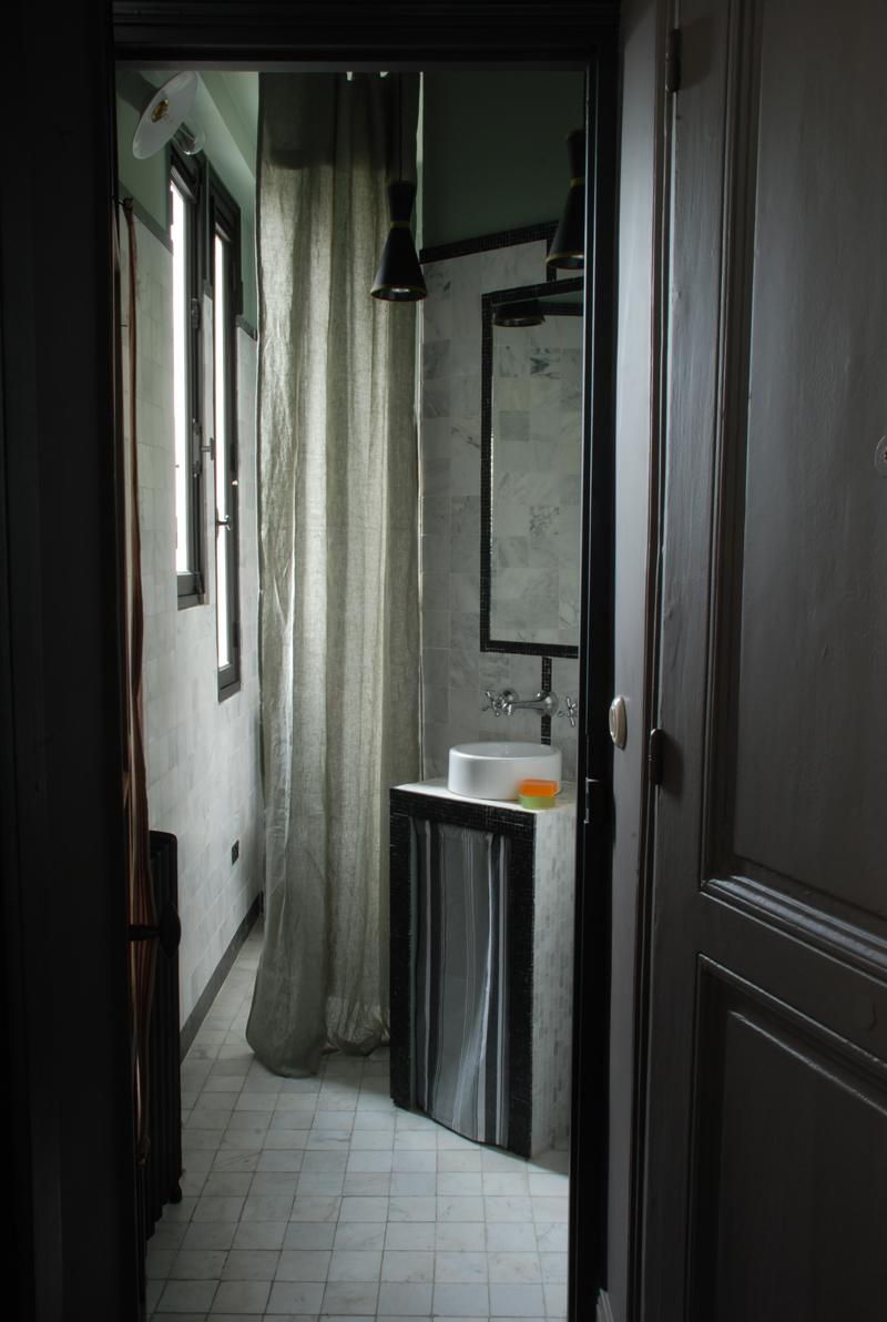adelaparvu.com despre garsoniera 25 mp, locuinta mica Paris, designer Marianne Evennou (15)