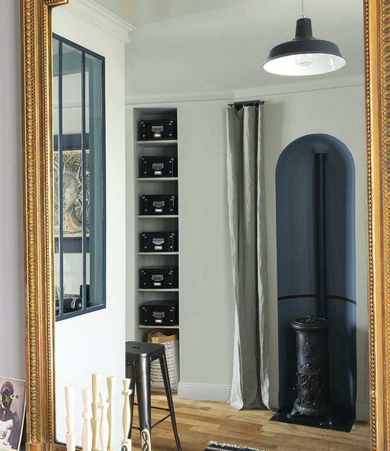 adelaparvu.com despre garsoniera 25 mp, locuinta mica Paris, designer Marianne Evennou (2)