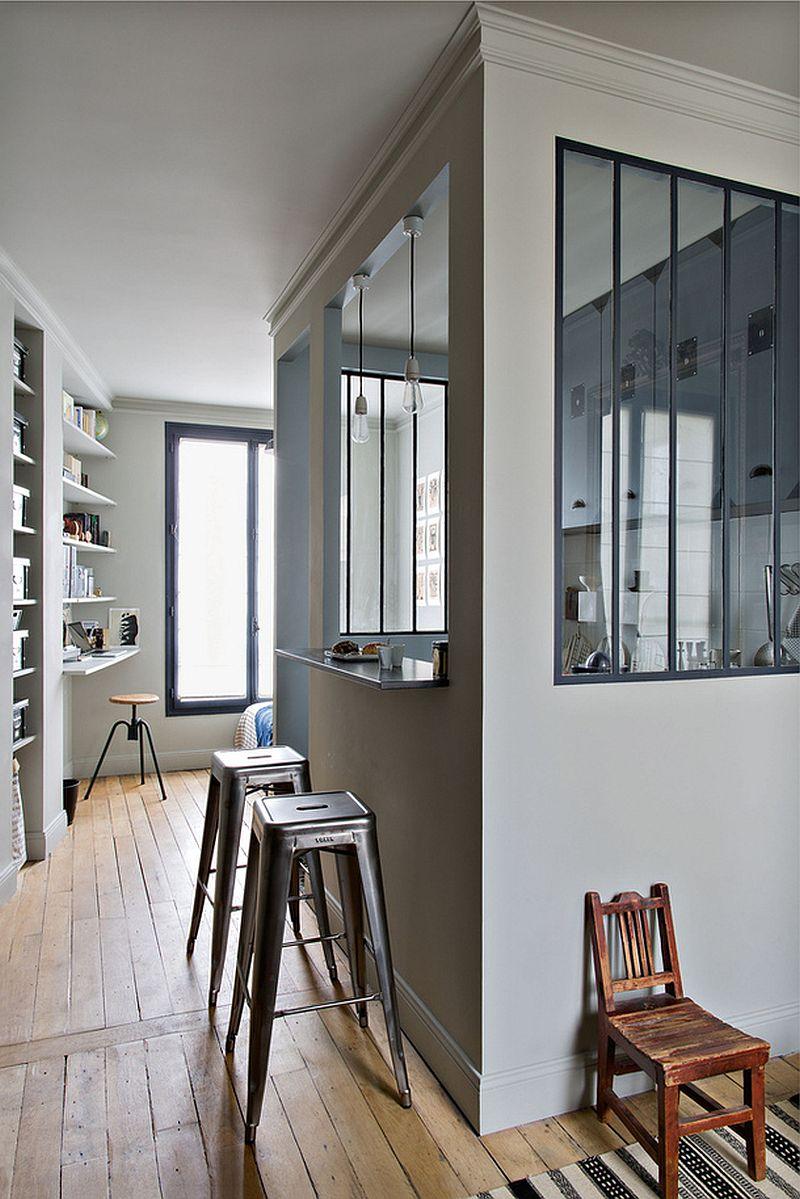 adelaparvu.com despre garsoniera 25 mp, locuinta mica Paris, designer Marianne Evennou (8)