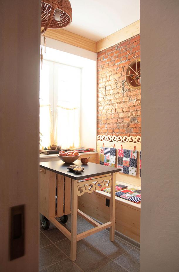 adelaparvu.com despre garsoniera artistica 34 mp, designer Max Chernitsov, Foto AD Russia (9)