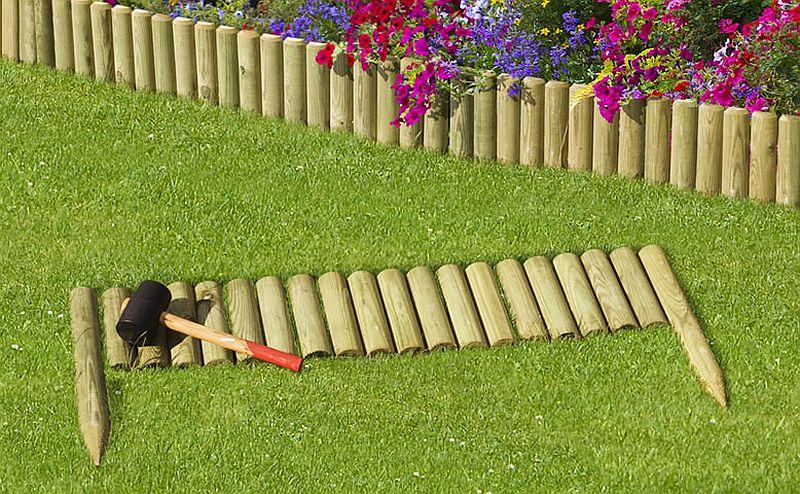 adelaparvu.com despre idei cu garduri, borduri pentru gradina de flori (3)