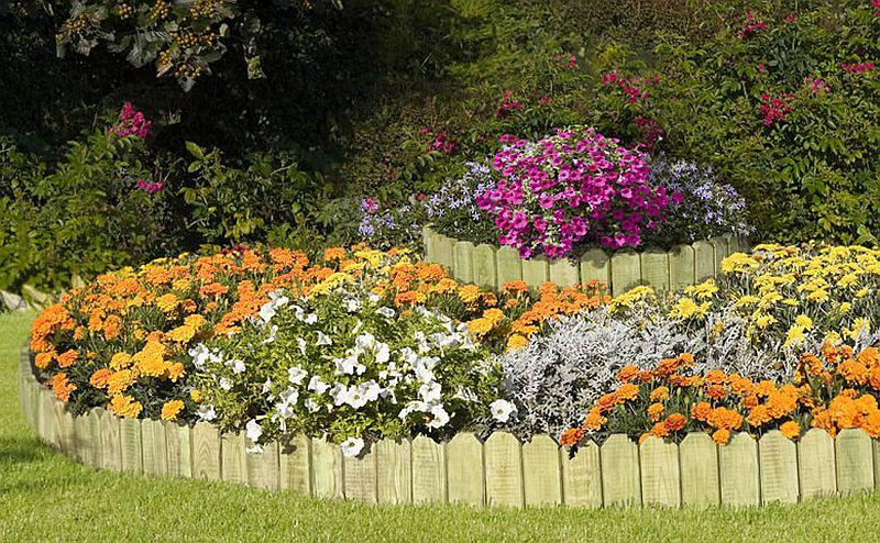adelaparvu.com despre idei cu garduri, borduri pentru gradina de flori (4)