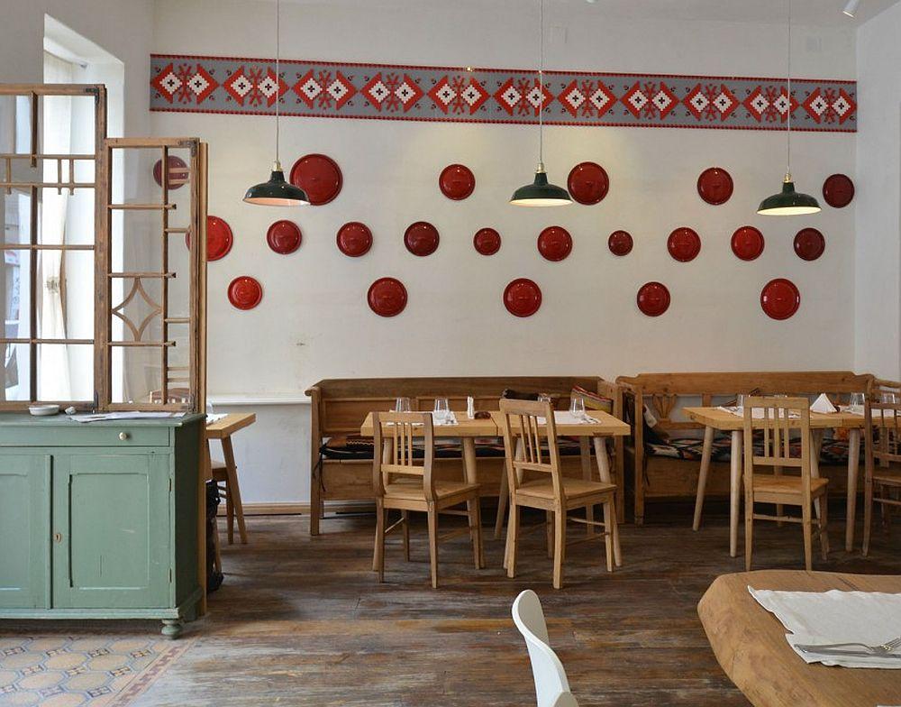 adelaparvu.com despre idei decorative in stil traditional romanesc, interior restaurant Lacrimi si Sfinti, arh Cristian Corvin (19)
