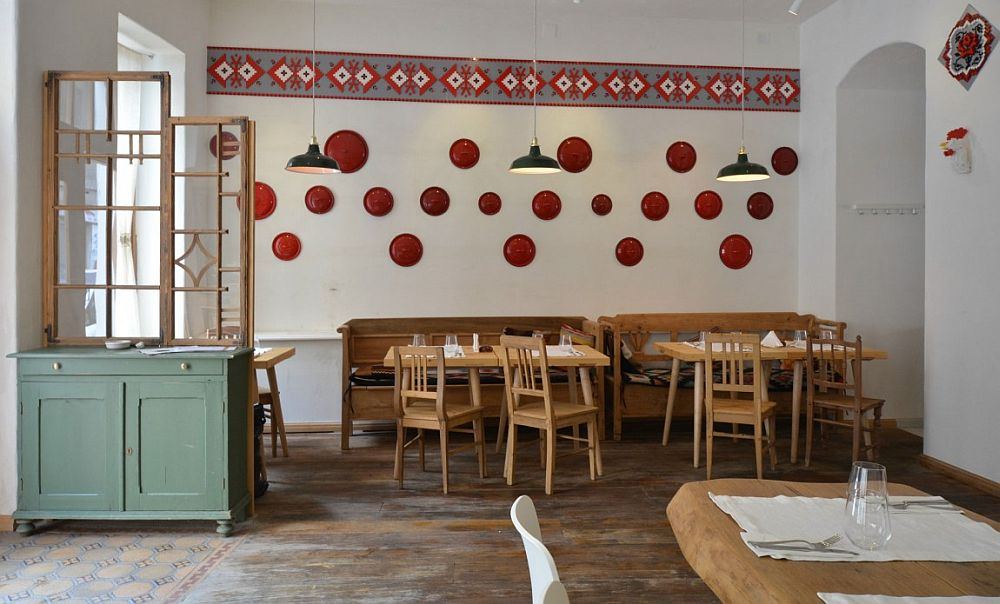 adelaparvu.com despre idei decorative in stil traditional romanesc, interior restaurant Lacrimi si Sfinti, arh Cristian Corvin (20)
