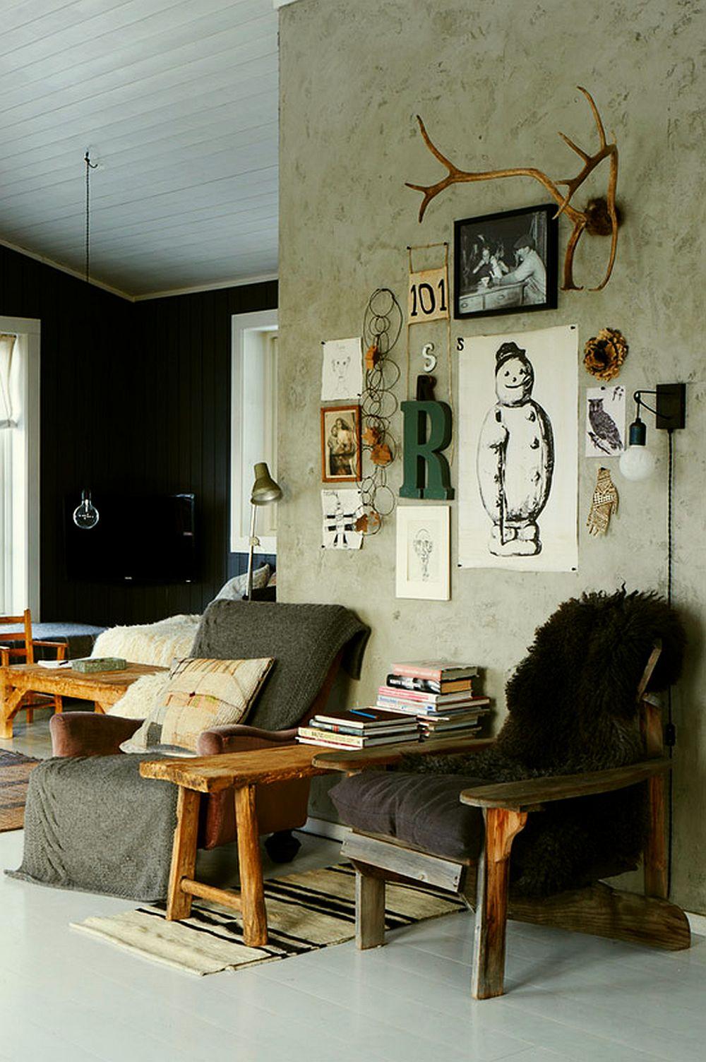 adelaparvu.com despre interioare rustic moderne, stilul modern rustic (10)