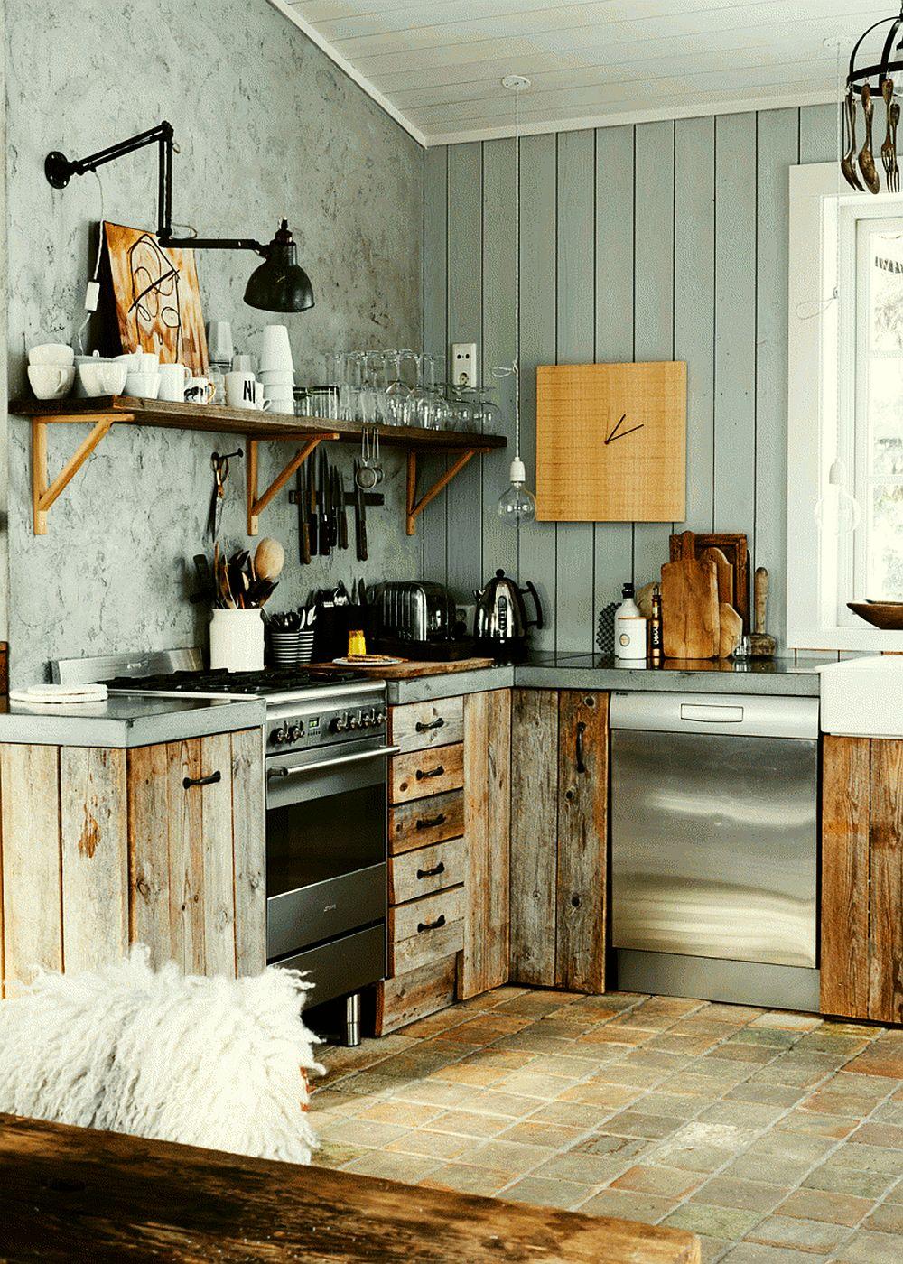 adelaparvu.com despre interioare rustic moderne, stilul modern rustic (4)