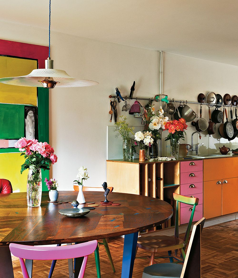 adelaparvu.com despre locuinta de artisti, apartament Londra, designeri Martino Gamper si Francis Upritchard, Foto Tom Mannion (2)