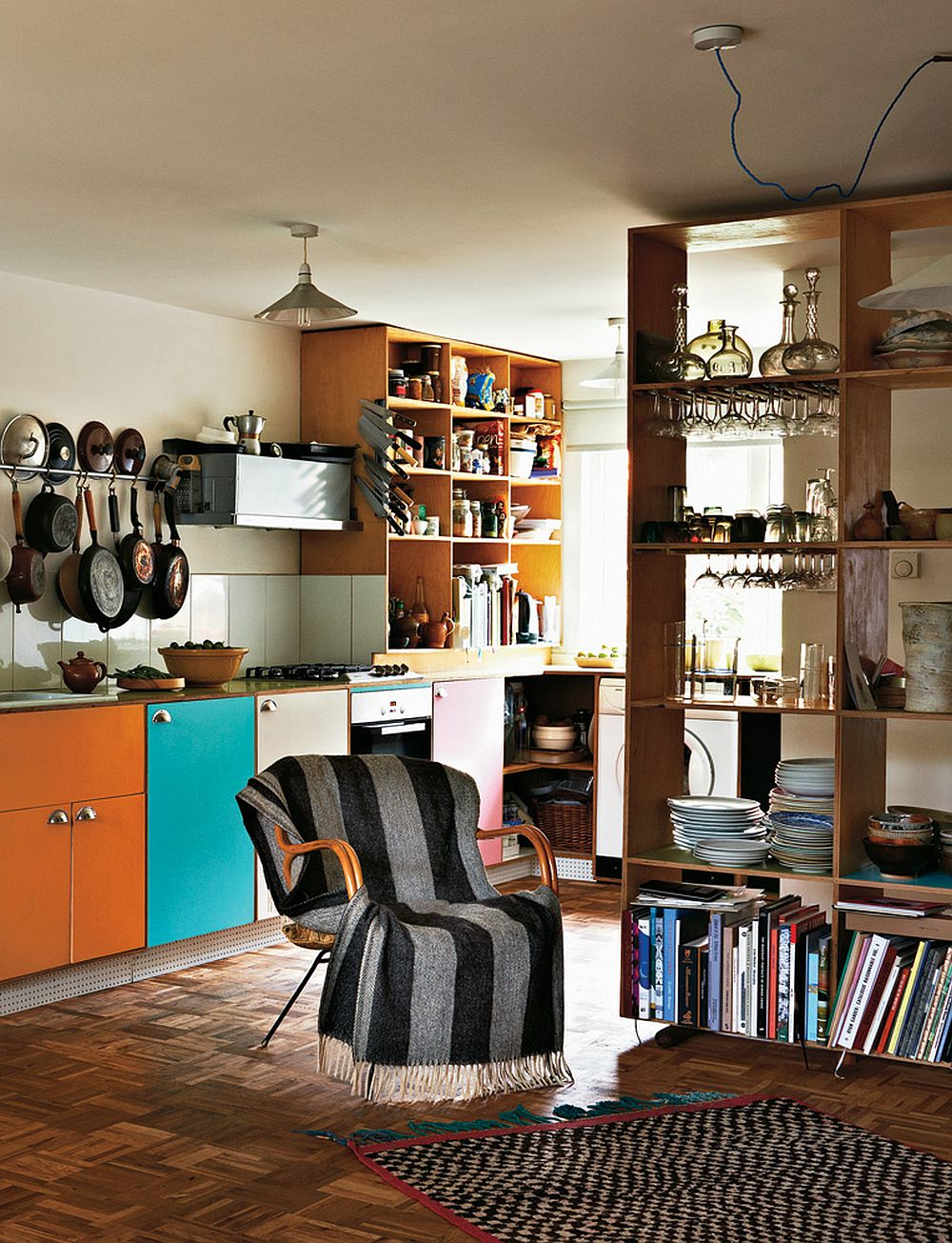 adelaparvu.com despre locuinta de artisti, apartament Londra, designeri Martino Gamper si Francis Upritchard, Foto Tom Mannion (3)