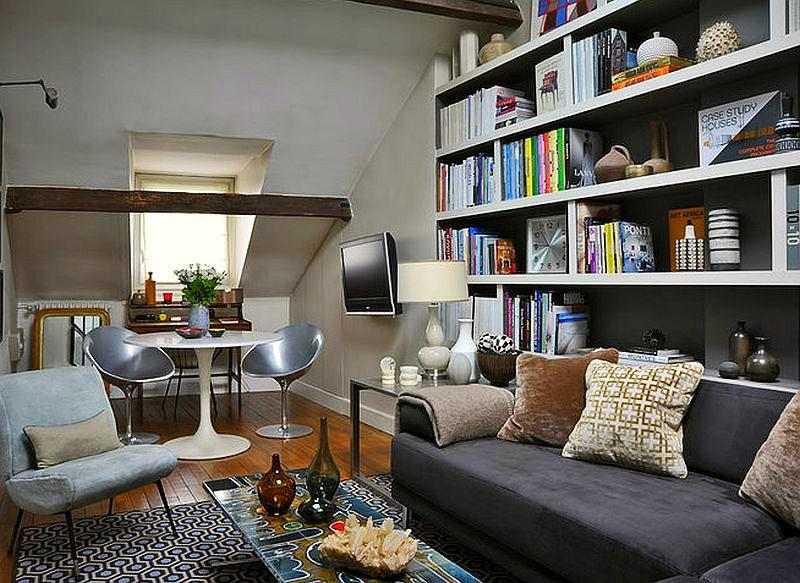 adelaparvu.com despre mansarda 40 mp, mansarda Paris, designer Frabrice Juan  (13)
