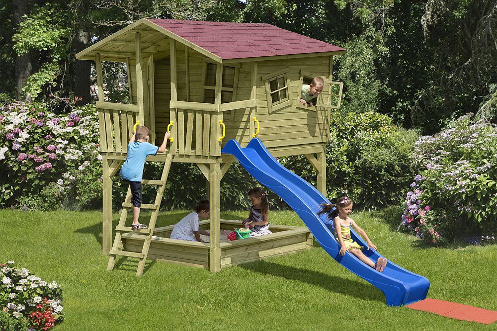 adelaparvu.com despre modele casute si locuri joaca copii, design Delta Gartenholz (3)