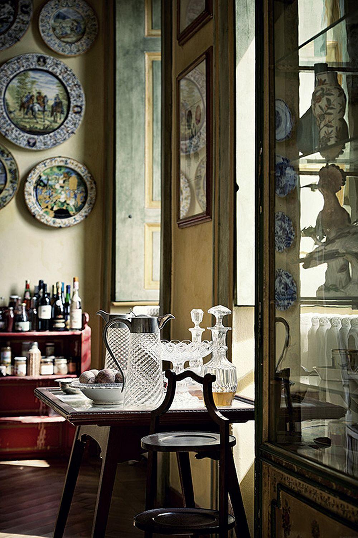 adelaparvu.com despre palat italian Gaetano Besana, interior clasic si rustic, casa in Italia, Foto Davide Lovatti (10)