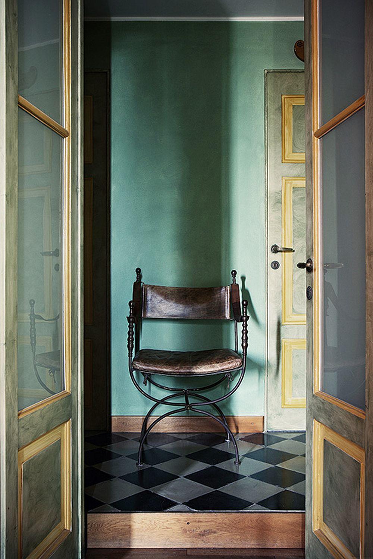 adelaparvu.com despre palat italian Gaetano Besana, interior clasic si rustic, casa in Italia, Foto Davide Lovatti (14)