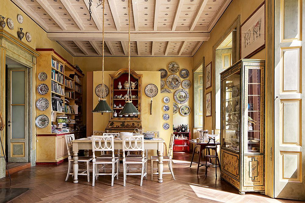 adelaparvu.com despre palat italian Gaetano Besana, interior clasic si rustic, casa in Italia, Foto Davide Lovatti (16)