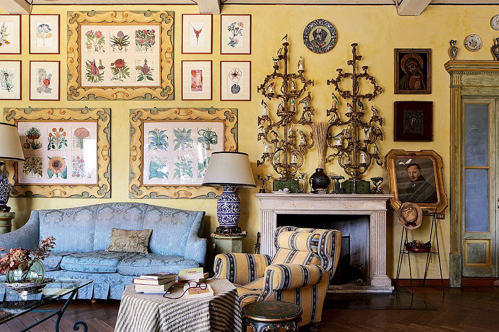 adelaparvu.com despre palat italian Gaetano Besana, interior clasic si rustic, casa in Italia, Foto Davide Lovatti (20)