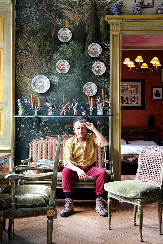 adelaparvu.com despre palat italian Gaetano Besana, interior clasic si rustic, casa in Italia, Foto Davide Lovatti (21)