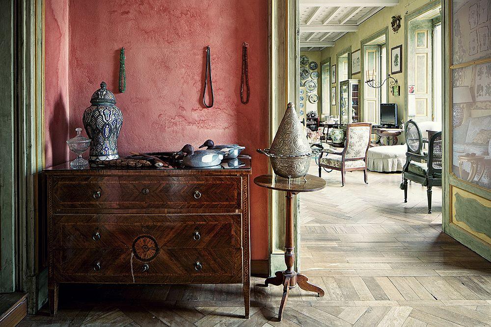 adelaparvu.com despre palat italian Gaetano Besana, interior clasic si rustic, casa in Italia, Foto Davide Lovatti (3)