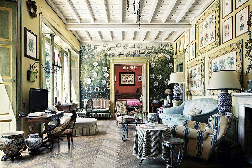 adelaparvu.com despre palat italian Gaetano Besana, interior clasic si rustic, casa in Italia, Foto Davide Lovatti (5)
