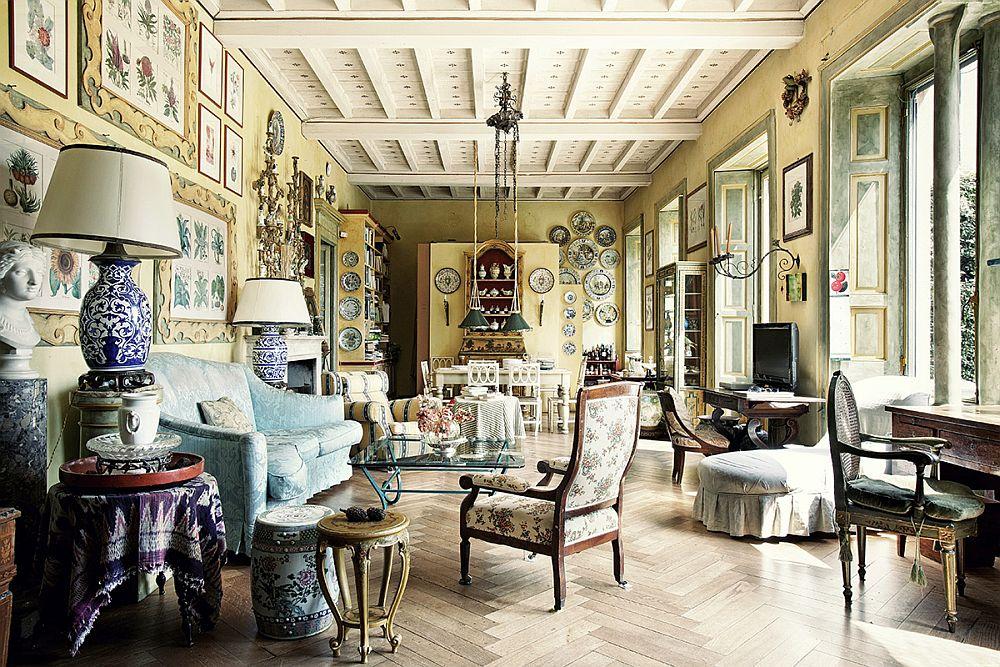 adelaparvu.com despre palat italian Gaetano Besana, interior clasic si rustic, casa in Italia, Foto Davide Lovatti (9)