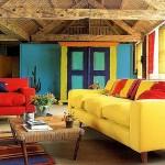 adelaparvu.com despre paleta de culori vii in ambient rustic, stil rustic colorat (1)
