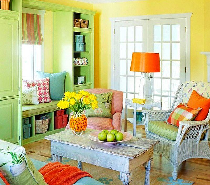 adelaparvu.com despre paleta de culori vii in ambient rustic, stil rustic colorat (3)