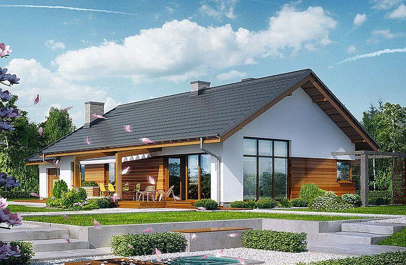 Proiecte de case mici cu suprafe e ntre 50 i 125 metri for Modele de case mici