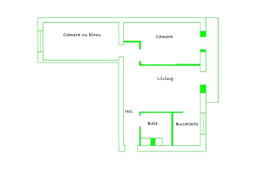 Planul apartamentului