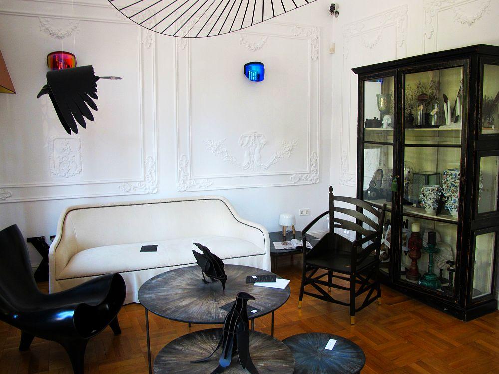 adelaparvu.com despre showroom Atelier Anda Roman Bucuresti, casa veche, interior eclectic (52)
