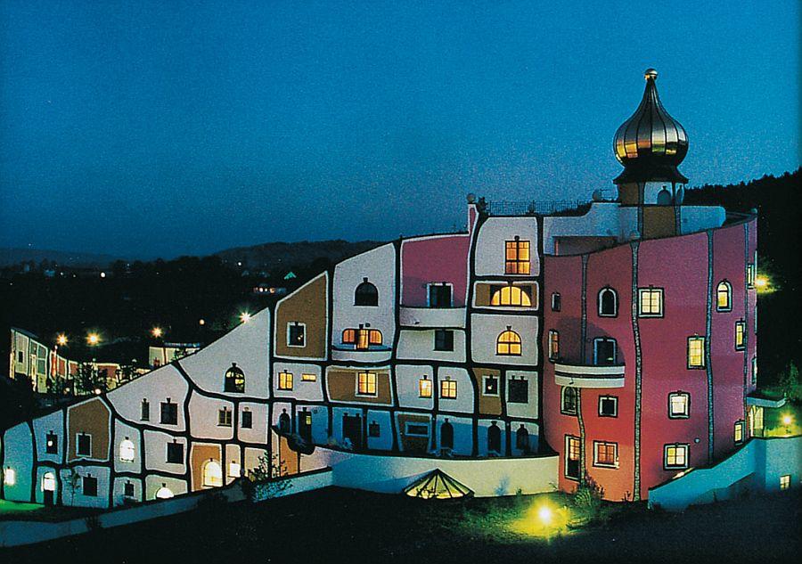 adelaparvu.com despre statiunea Rogner Bad Blumau, Austria, arhitect Friedensreich Hundertwasser (4)