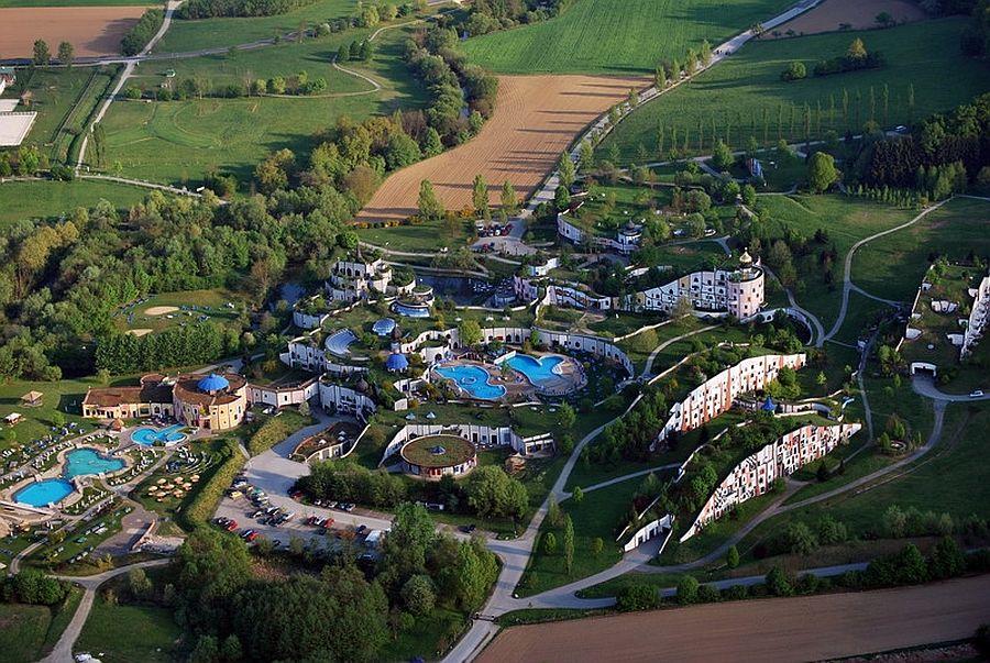 adelaparvu.com despre statiunea Rogner Bad Blumau, Austria, arhitect Friedensreich Hundertwasser (6)