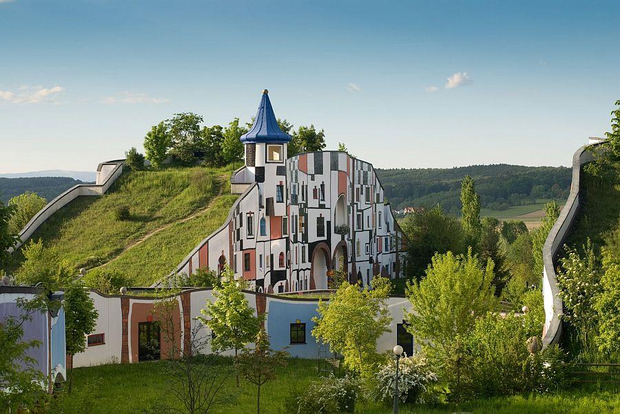 adelaparvu.com despre statiunea Rogner Bad Blumau, Austria, arhitect Friedensreich Hundertwasser (8)