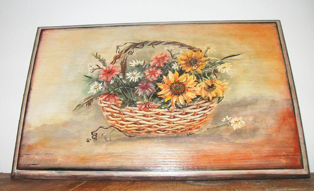 adelaparvu.com despre tablouri, cufere si mic mobilier pictate, design Brindusa Art, artizan Brindusa Panc (2)