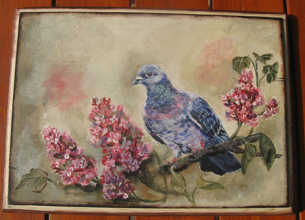 adelaparvu.com despre tablouri, cufere si mic mobilier pictate, design Brindusa Art, artizan Brindusa Panc (8)