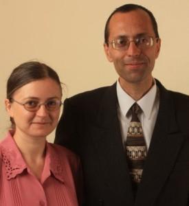 Brîndușa alături de soțul ei