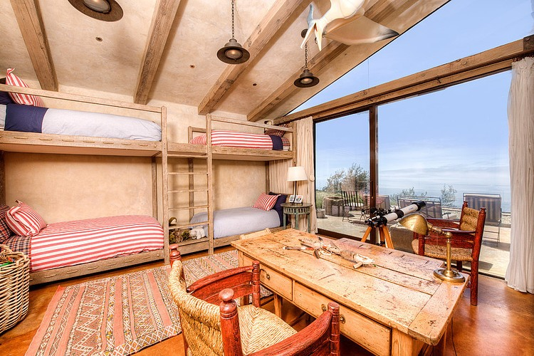 adelaparvu.com despre vila americana pe malul oceanului, casa in stil mediteranean, casa Big Sur, arhitect Mickey Muening (10)